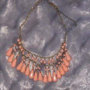 Jewelry - Pink and gold neckless